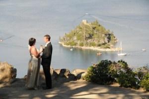 Our wedding at Lake Tahoe