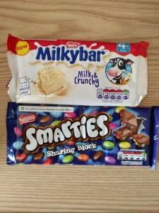Smarties & Milkybar
