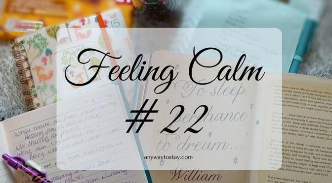 Feeling Calm #22
