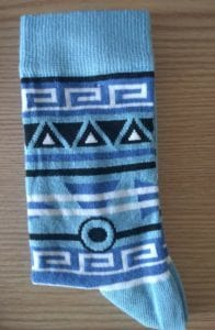 Great pattern on our Stand4 Socks