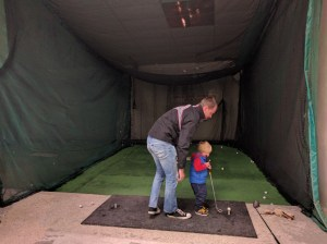 Golf nets at The Milky Way