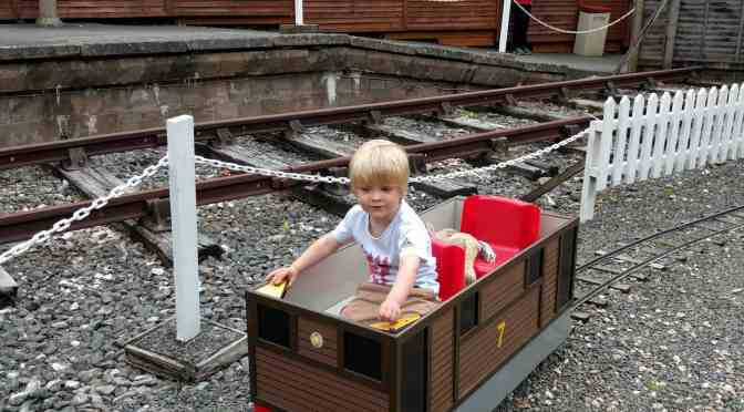 Drive your own train at Devon Railway Centre
