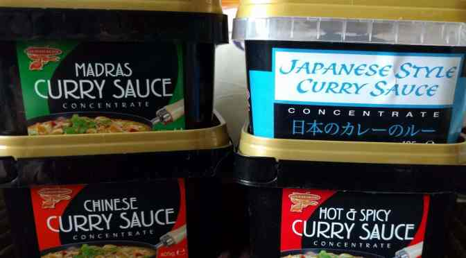 Cooking with Goldfish Curry Sauce