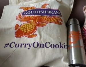 #CurryOnCooking with Goldfish