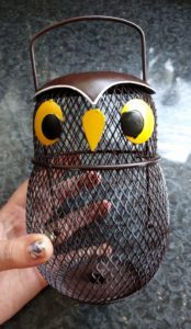 Our Owl Fun Feeder from Chapelwood