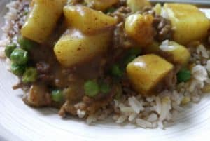 Quick  Easy Beef Curry