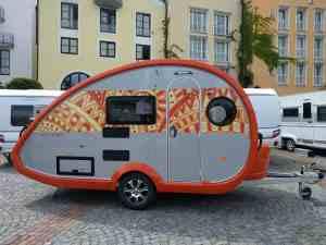 A cute Knaus Tabbert caravan