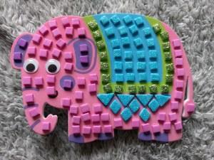Elephant Mosiac Magnets