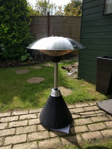 Firefly Electric Table Top Heater