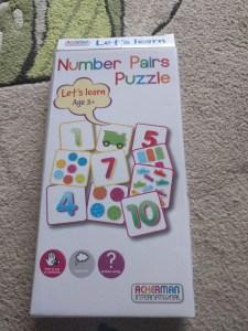 Number pairs puzzle