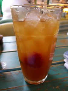 Caribbean Pimms at Turtle Bay