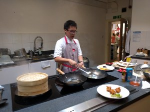My mini lesson at School of Wok earlier this year