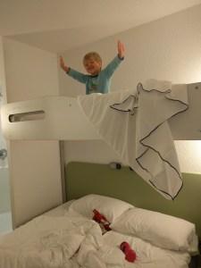 Loving the bunkbed