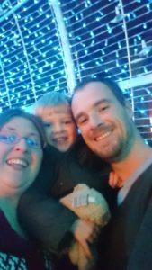 Seeing the Christmas Lights