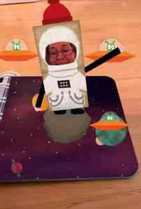 Me in space