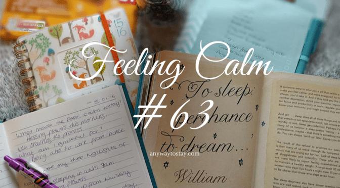 Feeling Calm #63