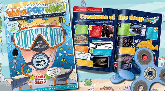 Win a Years Subscription to Whizz Pop Bang Magazine