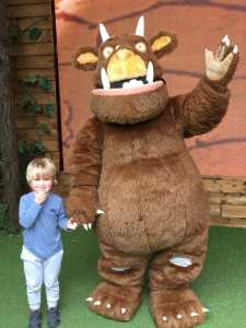 Meeting the Gruffalo