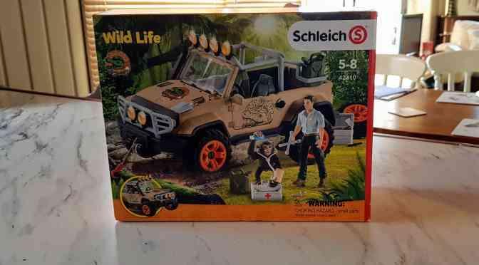 Schleich Wild Life 4 x 4 Vehicle – Review