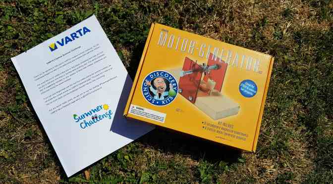 VARTA Summer Challenge #6 Create an Electric Motor