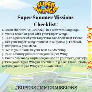 #SuperSummerMissions