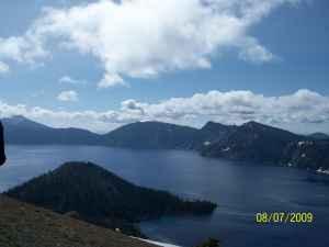 Crater Lake america