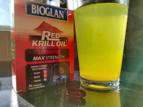 Taking the Bioglan Red Krill Oil
