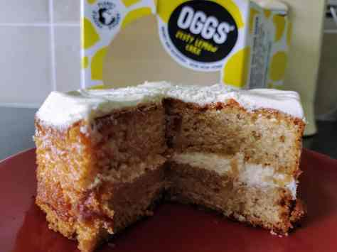OGGS Zesty Lemon CAke
