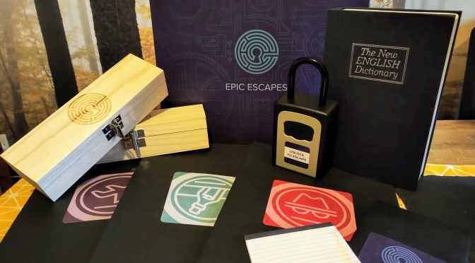 Win an Escape Room in a Box (3in1) Worth £99