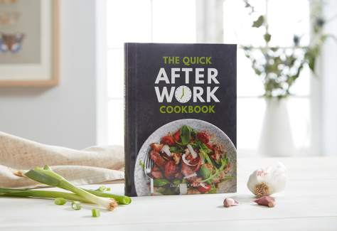 front cover the quick after work cookbook