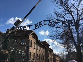 """Arbeit Macht Frei"" - Work makes you free. Nazi Propaganda"