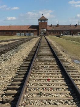 Auschwitz II - Birkenau; AKA the death camp, the second Nazi concentration camp here