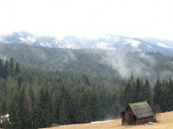 View from a road stop in Zakopane; Even on a cloudy day, its one hell of a view