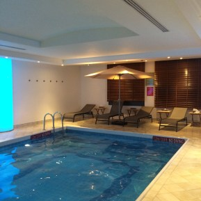 Hotel Swimming Pool; All to ourselves
