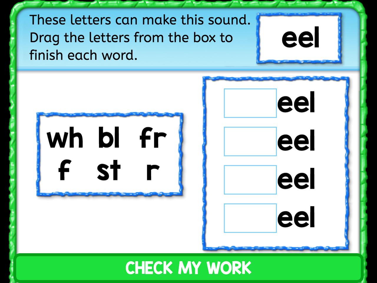 Eel Ending Sounds