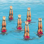 synchroswimmers