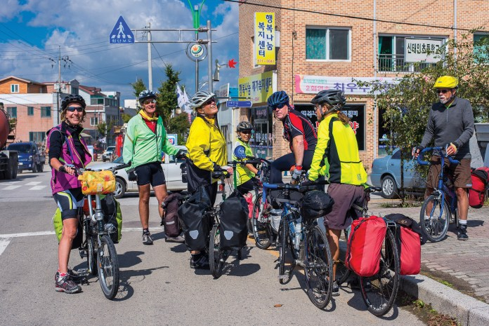 Travel to South Korea on Cycling Tour for ANZA Singapore