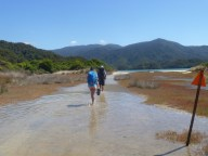 Estuary crossing Abel Tasman