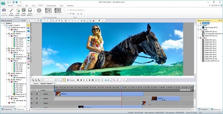 VSDC Video Editor Pro 5.8.2.796 Crack + Keygen Free Download