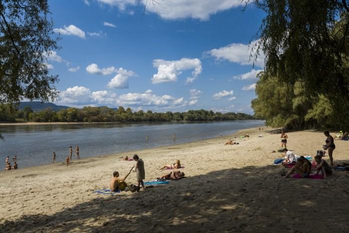 Alacsony a Duna vízállása