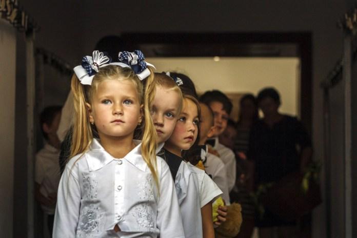 A kárpátaljai magyar iskolák tanévnyitója Beregszászon