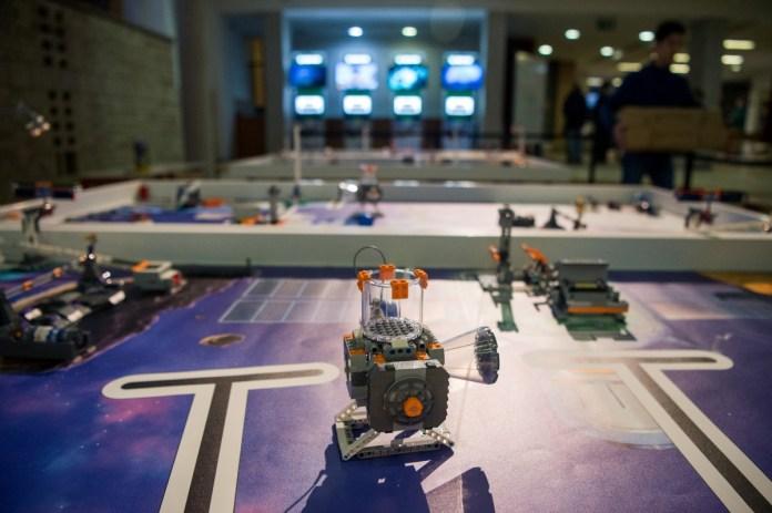 Lego-robotok versenye Budapesten