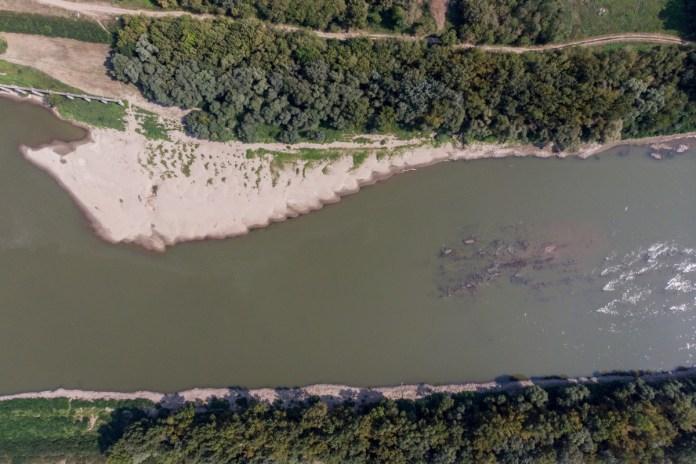 Alacsony a Tisza vízállása