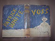 Voss (1957), dust jacket designed by Sidney Nolan