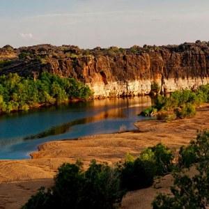 Fitzroy River in the Kimberley, Western Australia