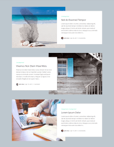 Divi Blog Layouts Box Extended
