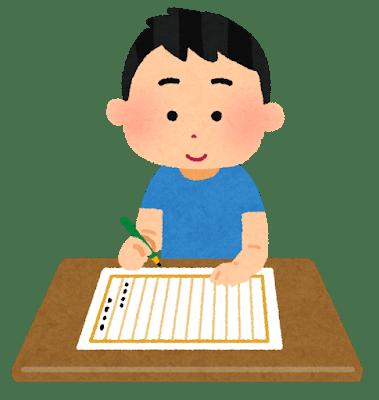 卒業文集の書き方・指導④ 下書きを書き進める