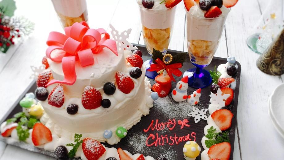 クリスマスケーキデコレーション