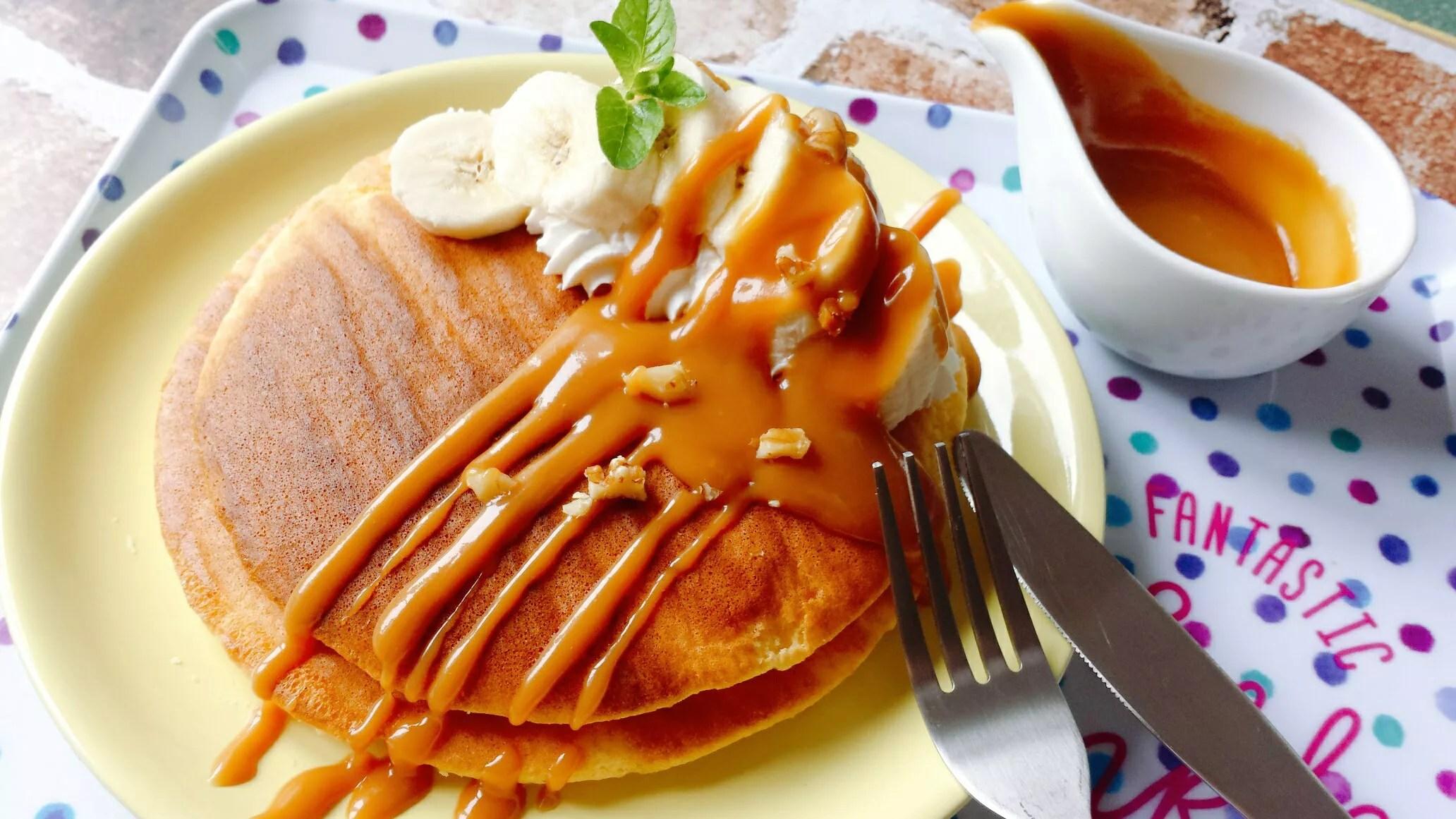 パンケーキ レシピ HM ふわふわ