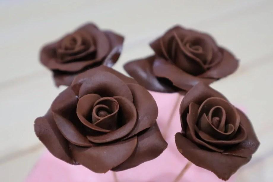 チョコ バラ 作り方